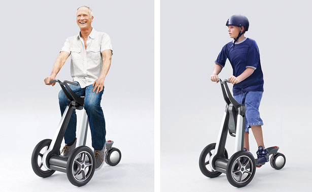 ILY-A Ultra-Compact Electronic Personal Mobility Device