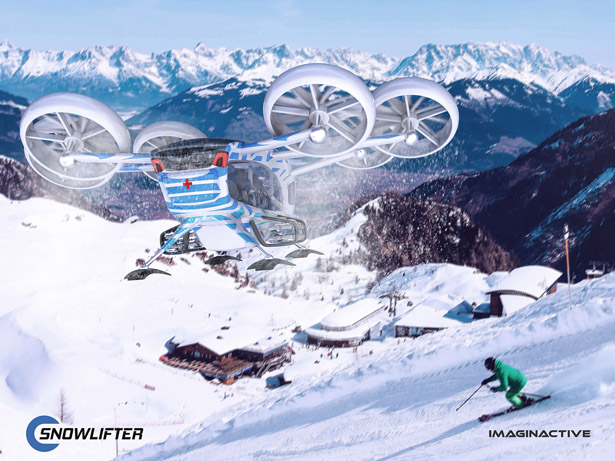 Imaginactive Snow Lifter by Martin Rico