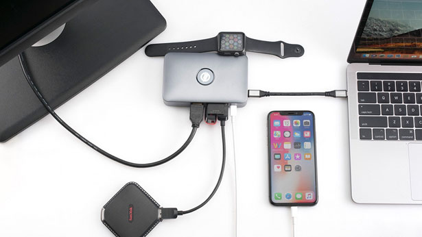 iMate Plug Sync and Charge Apple Devices All at Once by Grenoplus