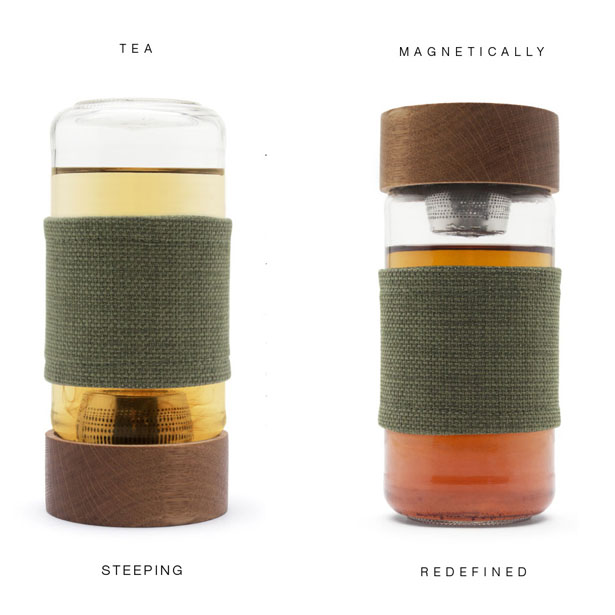 Imbue - The Magnetic Tea Infusing Vessel by WWU Industrial Design