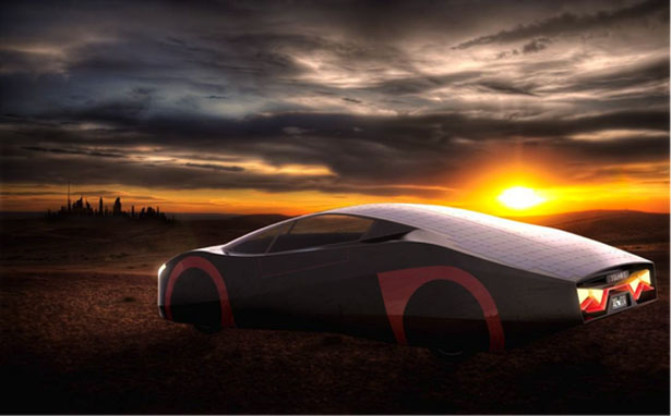 Immortus Solar Electric Sports Car by Evxventures