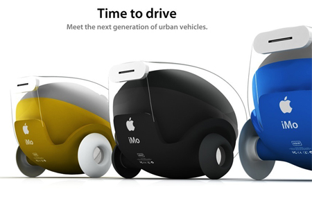 iMo is The Next Generation Urban Vehicle