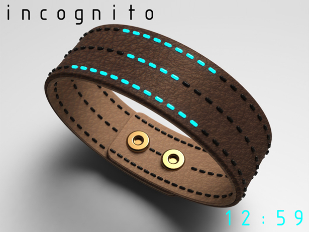 Incognito Bracelet Watch by Peter Fletcher
