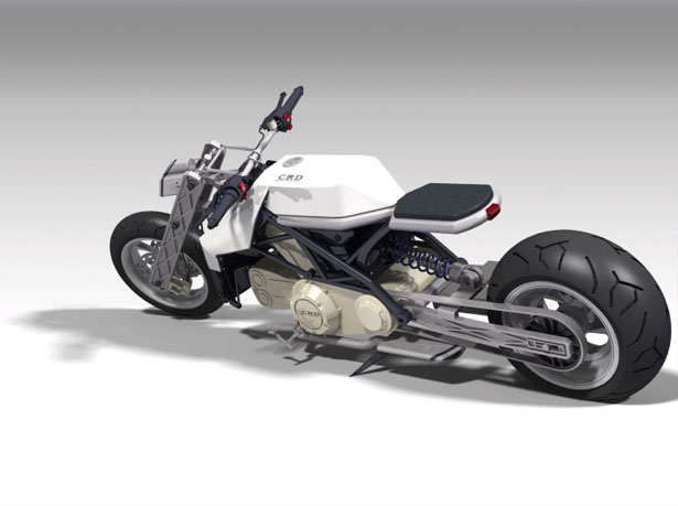 India Concept Motorcycle by Chetan Rao