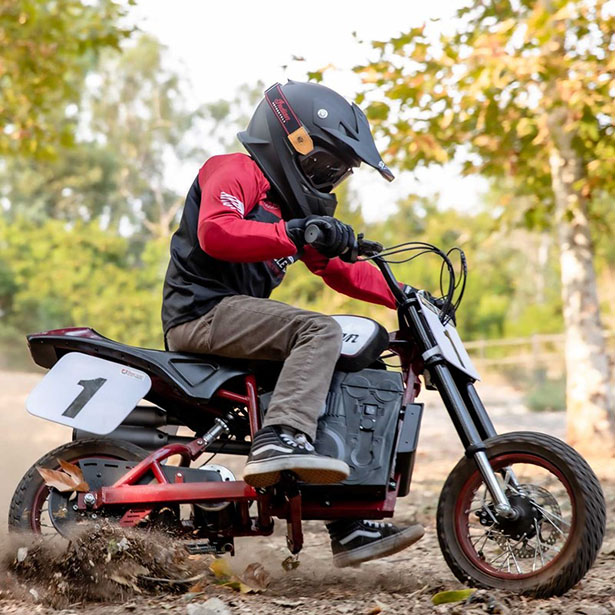 Indian Motorcycle eFTR Jr for Young Rider