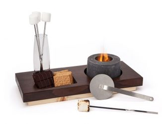 Mini Indoor S'mores Fire Pit When It's Too Cold To Spend The Night Outside