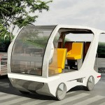 Indoor Solar Car Offers Convenient Short Distance Commuting with Luxury