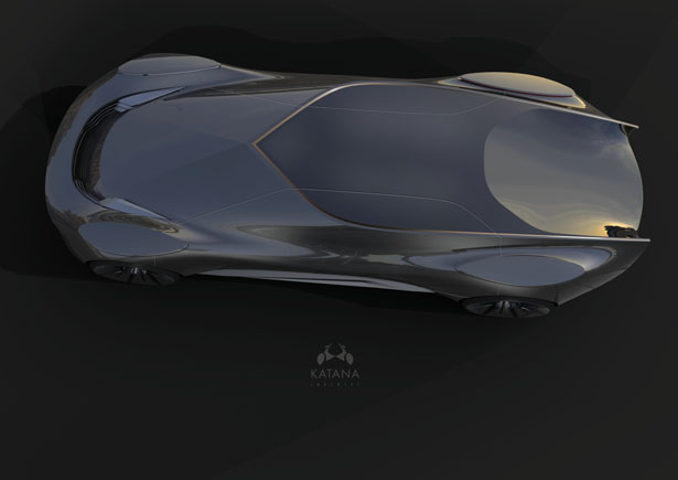 INFINITI Katana Concept Car by Frederic Allenberg