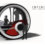 Infinitlar Autonomous Futuristic Vehicle for The Year of 2040