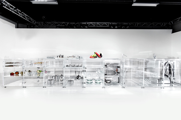 Infinity Kitchen: Transparent Kitchen by MVRDV