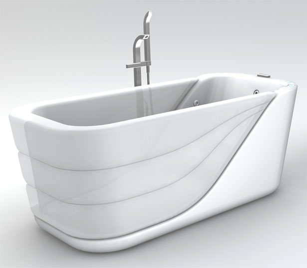 Inflatable Bathtub to Reduce The Possibility of Accidental Slipping or Falling