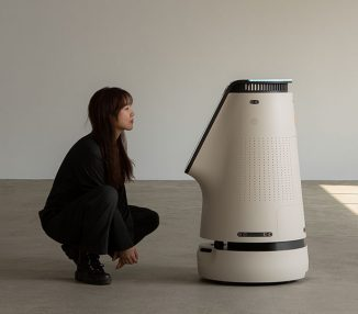 Zetabank Information Robot for Residential and Commercial Spaces