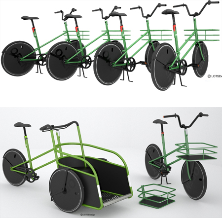 innovative and adaptive openbike transportation system
