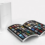 Flip Through Pages with Innovative E-Book Reader Concept LIBRARY