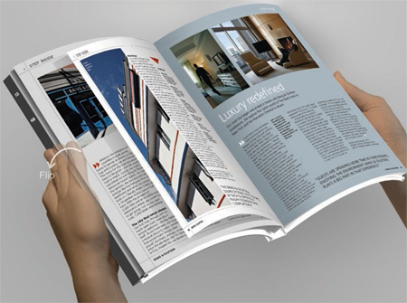 innovative e book reader concept library