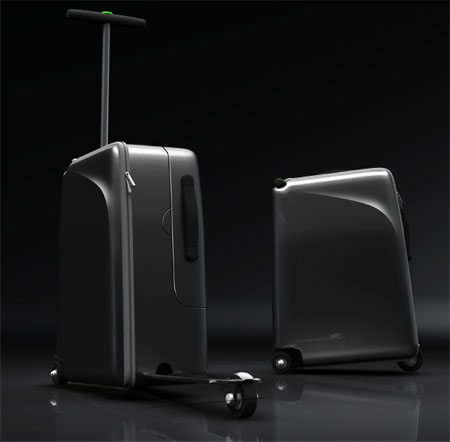 Innovative TITAN Hihgroller Travel Suitcase Can Carry The User Instead Of Being Carried