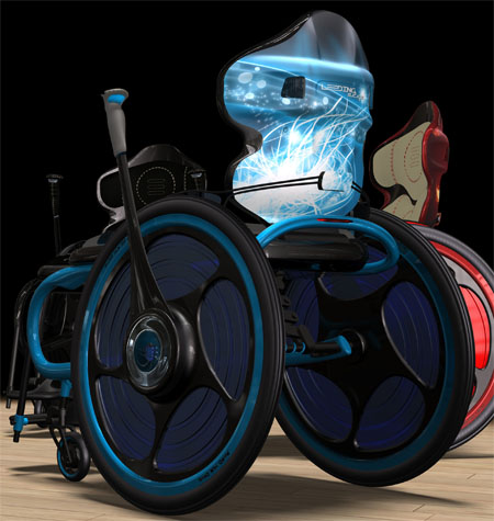Innovative Wheel Chair Leeding E.D.G.E Enables User Roam Around Even In A Standing Position