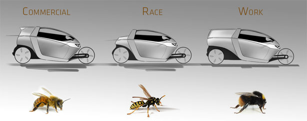 Innvelo Three Concept Transportation by FORM & DRANG