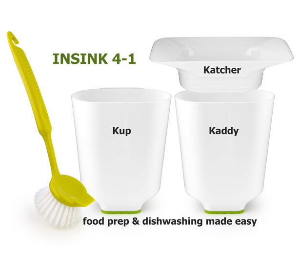 INSINK 4-1 Food Preparation Helper Tools