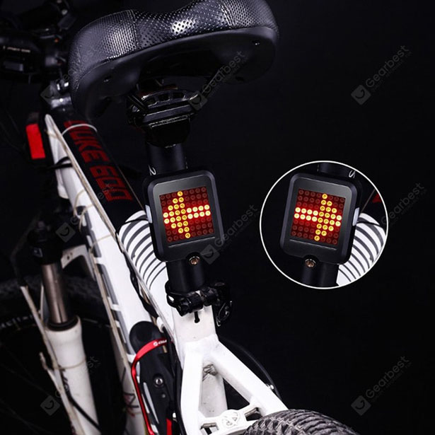 Intelligent Bicycle Direction Indicator Light