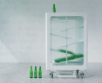 Interactive Glass Recycle Bin Aims to Boost Recycling Behavior