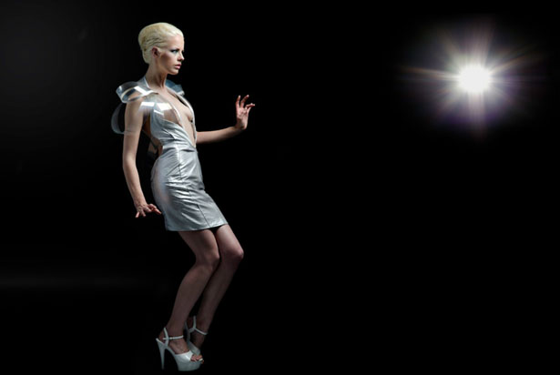 Intimacy 2.0 Dress Turns Transparent When You're Turned On