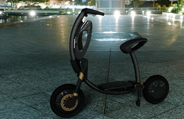 INU Folding Scooter
