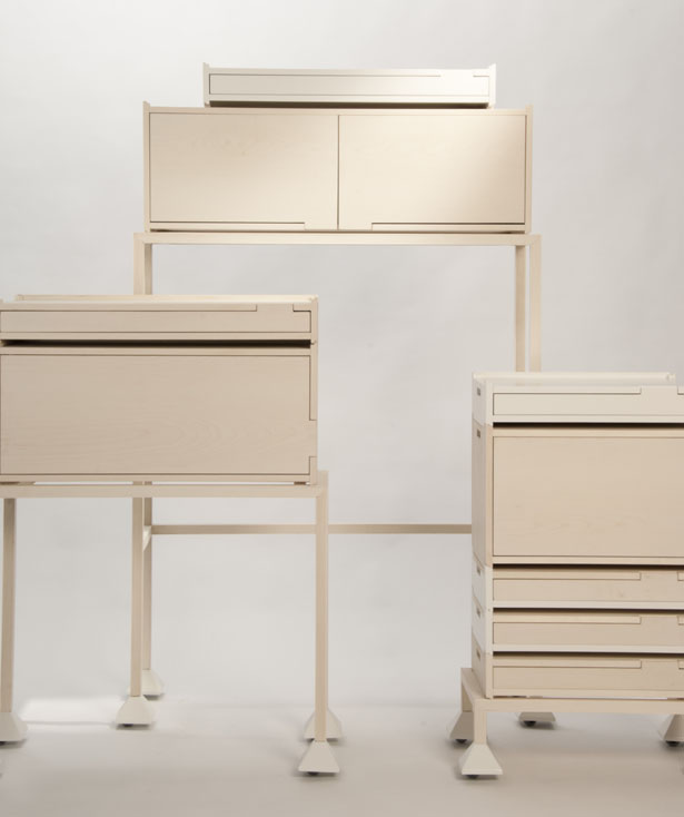 Invader Furniture by Maria Bruun