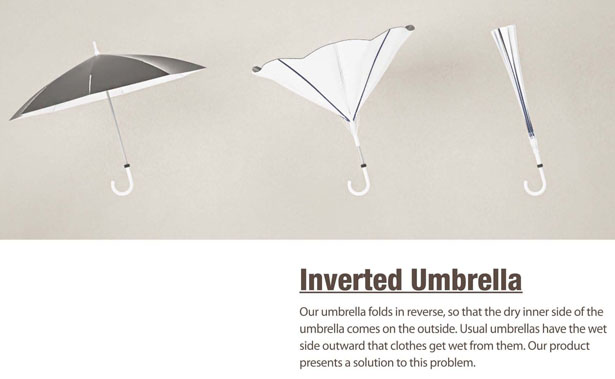 Inverted Umbrella by Ilmo Ahn