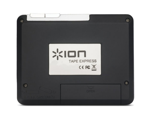 ION Tape Express Portable Analog To Digital Cassette Converter with Headphones