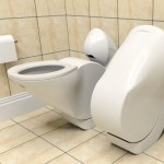 Compact Iota Folding Toilet Concept Drastically Reduces Water Waste