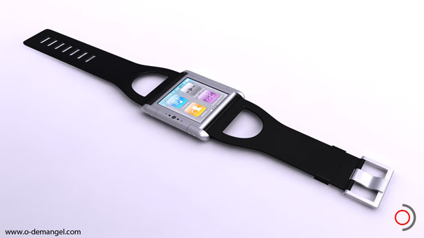 iPhone Nano Watch by Olivier Demangel