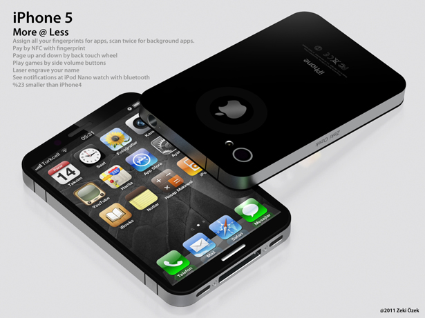 iPhone 5 Concept by Zeki Osek