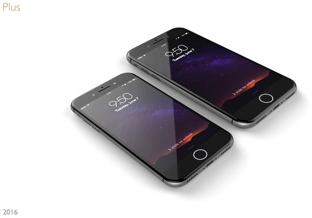 iPhone7 Design Proposal by Giorgi Tedoradze