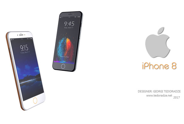 iPhone 8 Concept Design Proposal by Giorgi Tedoradze