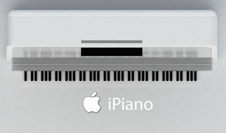 iPiano : Concept Electronic Piano by Heyki Lee