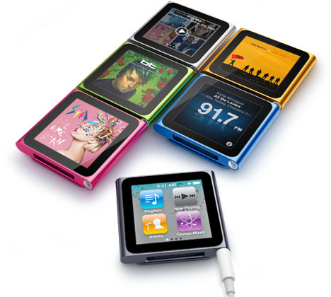 iPod Nano With Multi-Touch Technology