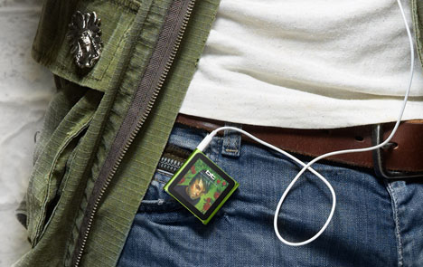 iPod Nano with Multi Touch