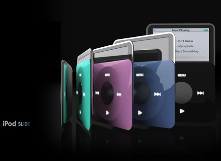 iPod Slide Design by Tryi Yeh