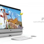 iPro Desktop Supercomputer Concept Combines Mac Pro Tube with iMac's Cinema Display