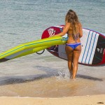 iRig : An Inflatable, Ultra light Windsurf Rig