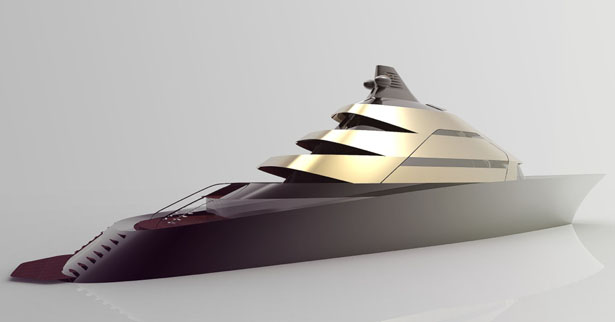 ISO 90m Yacht by Sean Macfaden