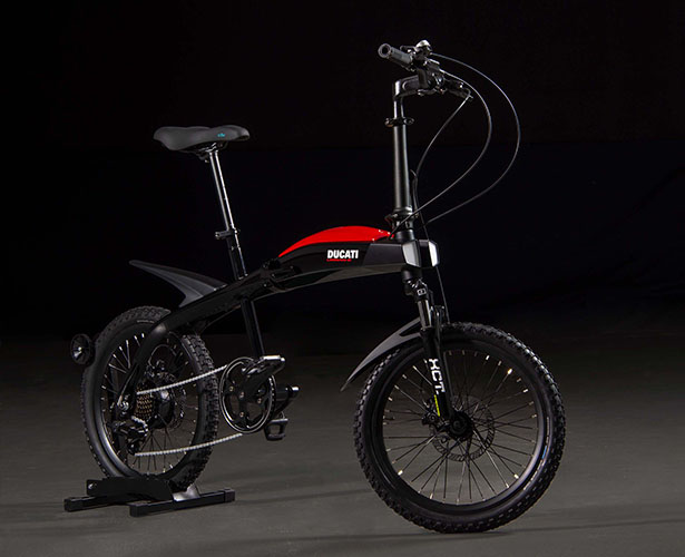 Italdesign x Ducati Urban-E Folding e-Bike