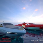 Italian Charme 45 Tender Yacht : A Luxurious Sporty Boat by Studio Pannone Architetti
