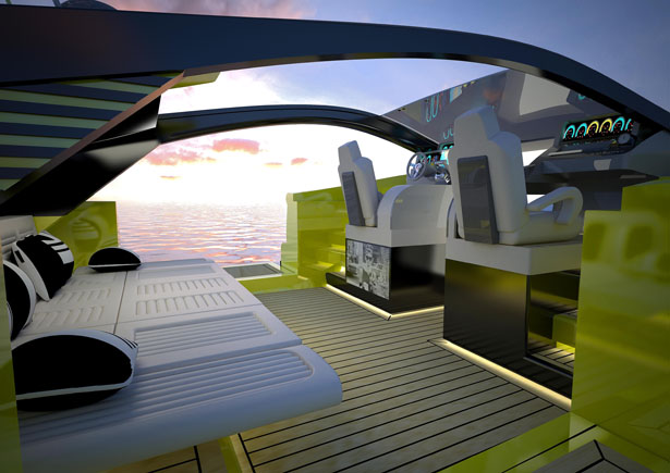 Italian Charme 45 Tender Yacht by Pannone Architetti