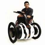 Independent Wheelchair Assist (IWA) : Motorized Add-on for Wheelchair by Oscar Fernandez