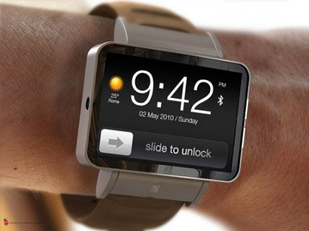 IWatch Futuristic Watch