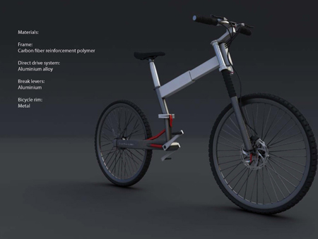 IziBi Folding Bike by Renato Gschwend