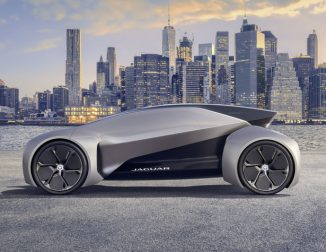 Futuristic Jaguar Land Rover Future-Type Concept Car for The Year of 2040