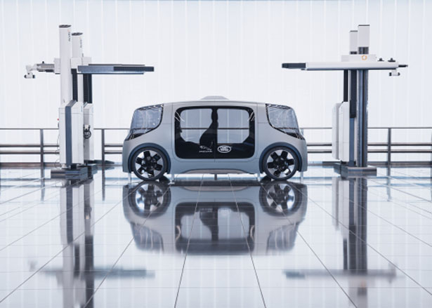 Jaguar Land Rover 'Project Vector' Multi-Use Electric Vehicle